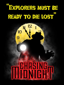 Chasing Midnight explorer T- shirt