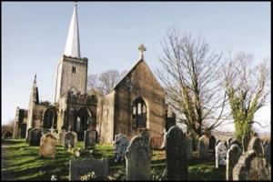 Haunted Dartmoor, Devon, ruined church