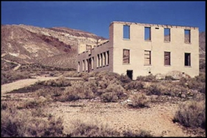 Ryholite ghost town, Death Valley
