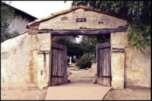 The ghostly monks of San Antonio Mission, California