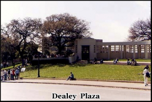 Dealey Plaza, location of the Kennedy assassination November 22nd, 1963