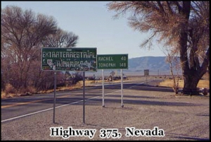 Highway 375, also known as the Extraterrestrial Highway