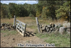 The Triangular Field one of the of the most haunted places in Gettysburg