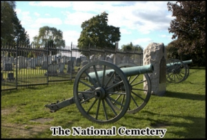 The National Cemetery where President Lincoln gave the famous Gettysburg Address