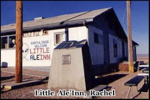 The Little Ale'Inn located in Rachel, Nevada