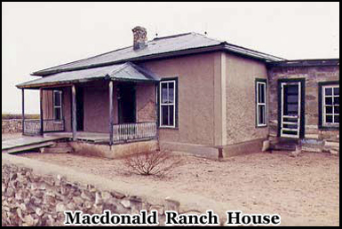 The Macdonald Ranch House was where scientists assembled the plutonium core of the bomb