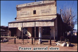 This is the general store in Pearce, the town was founded in 1894