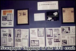 News Clippings Of The 1947 Roswell UFO Crash