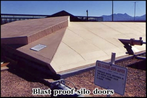 The protective blast proof doors to the Titan missile silo, Green Valley