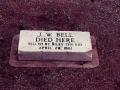 J.W Bell shot dead by Billy the Kid