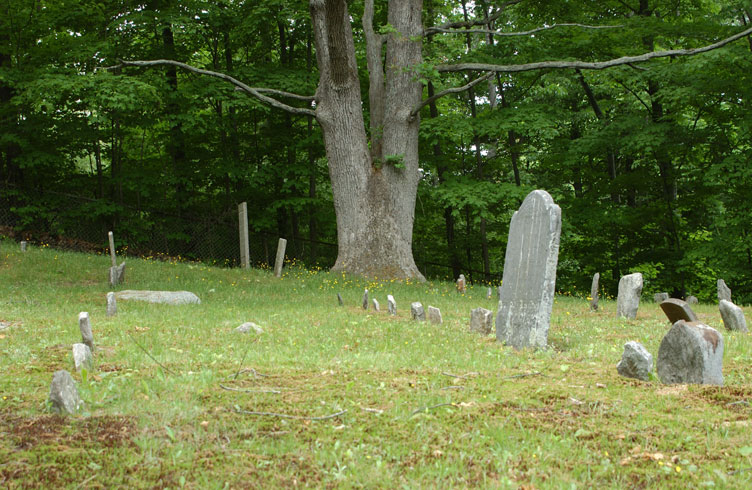 Haunted Four corners burial ground, Monroe, Connecticut