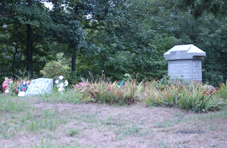 Haunted Haines Cemetery, Ohio