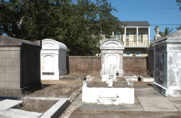 Haunted Lafayette cemetery, New Orleans