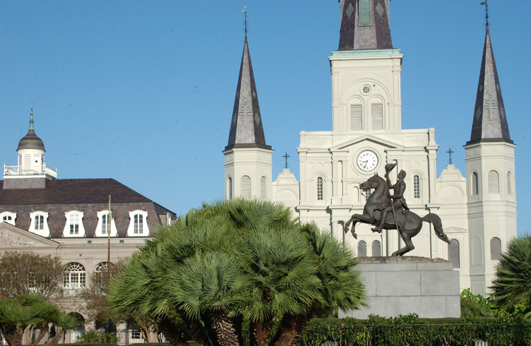 Haunted St Louis Cathedral, New Orleans