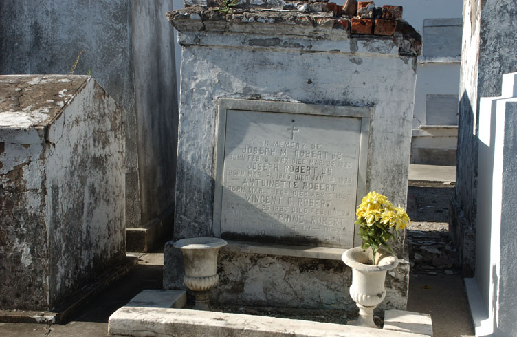 Haunted St Louis cemetery no 1, New Orleans
