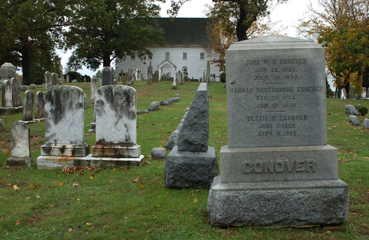 Haunted Old Tennant Church, New Jersey