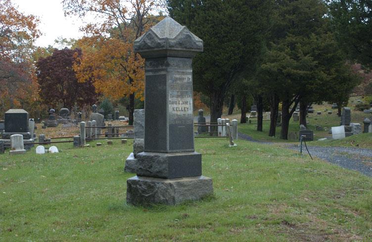 Hanted Rosehill Cemetery, Matawan, New Jersey