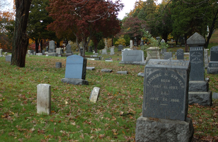 Haunted Rosehill Cemetery, Matawan, New Jersey