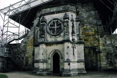 Haunted Rossyln Chapel, Scotland