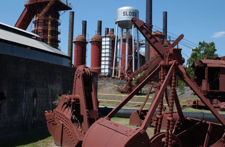 Sloss Furnace, Alabama