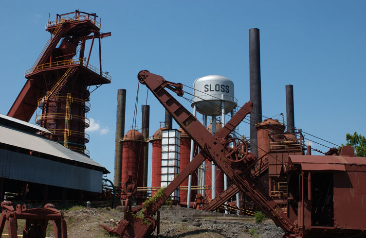 Haunted Sloss Furnace, Alabama