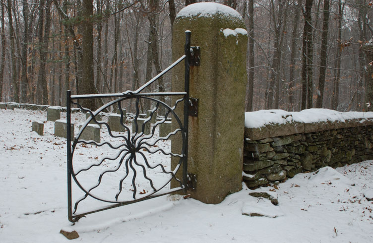 Haunted Spider Gates Cemetery, Connecticut