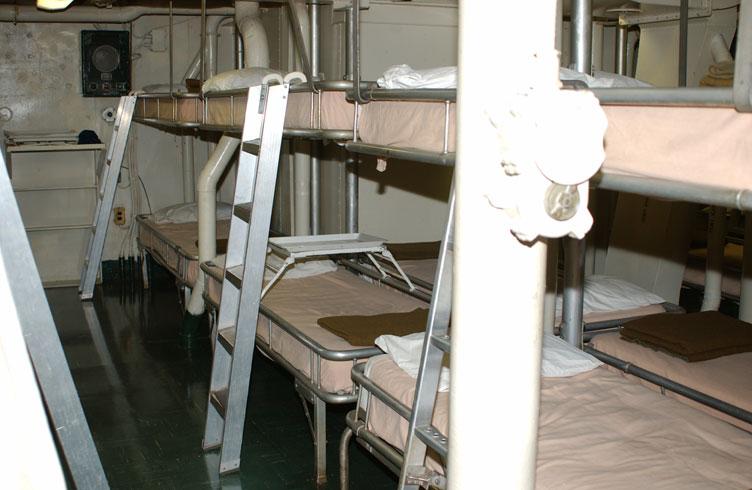 Haunted U.S.S Hornet, California