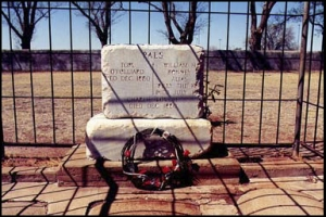 Billy the Kid's grave, Fort Sumner, New Mexico