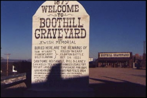 Haunted Boothill graveyard, Tombstone