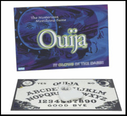 Ouija Boards are used by paranormal investigators to attempt to contact spirits