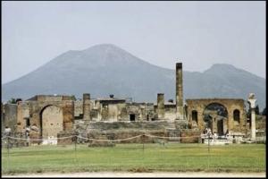 Pompeii still lies beneath Mount Versvous