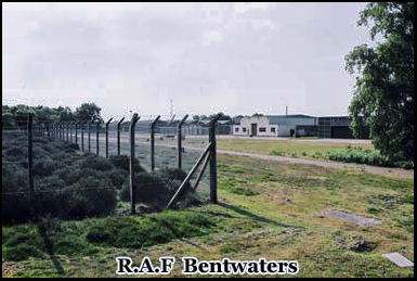 A disused hanger on the former R.A.F Rendlesham - Bentwaters airforce base