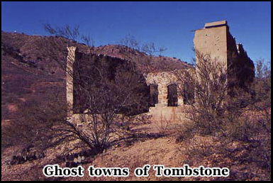 Tombstones ghost towns were abandoned after the mining boom ended