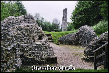 The ghosts of the children starved to death as a punishment have been sighted in Bramber Castle