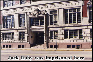 Dallas County Criminal Courts where Jack Ruby was imprisoned after shooting Oswald