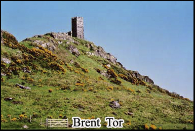 Brent Tor and the church at its peak were supposed to have been built by the devil