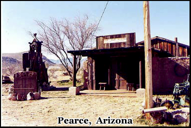 The town was founded by James Pearce and once had a population of 1500