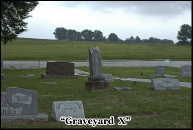 The mysterious Graveyard X somewhere in haunted Illinois