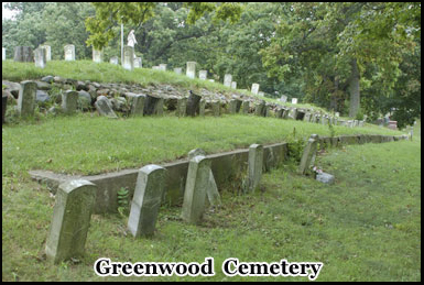 Among the hauntings at Greenwood Cemetery are those of Civil War soldiers