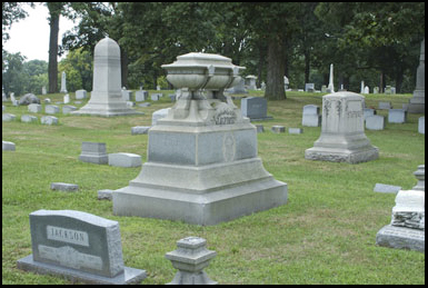 Greenwood Cemetery, home to ghost-lights and numerous unexplained phenomena
