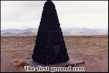 People felt the blast from the detonation at the Trinity Test Site 160 miles away
