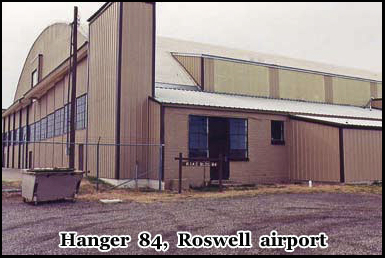 The Legendary Hanger 84, Where The Alien Bodies Where Flown Out To An Unknown Military Base