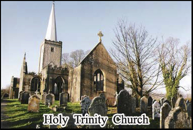 Holy Trinity Church in Buckfastleigh, part of haunted Dartmoor national park