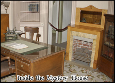There have been several ghost sightings in the house including that of a Sarah Winchester