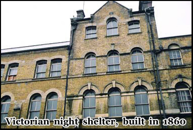 Built in 1860 this night shelter is one of the few buildings in Whitechapel from the Victorian era