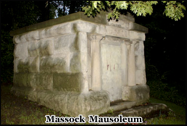 The Massock Mausoleum in Spring Valley is believed to be home to a vampire