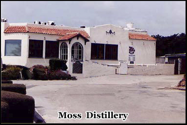 "The Moss Beach Distillery opened in 1927 and was once known as ""Franks Place"""