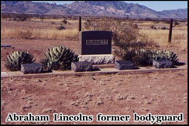 Abraham Lincolns former bodyguard is buried in the town cemetery