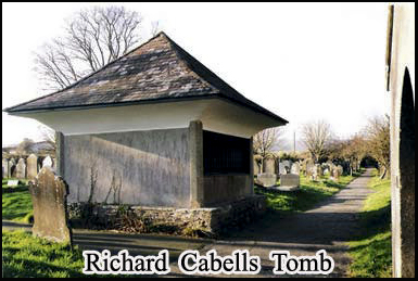 Richard Cabells Tomb, an inspiration for the evil squire in Hound of the Baskervilles