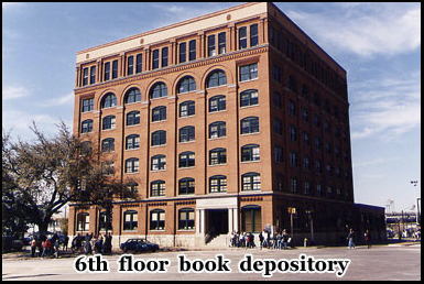 The 6th floor book depository, Dallas, Texas